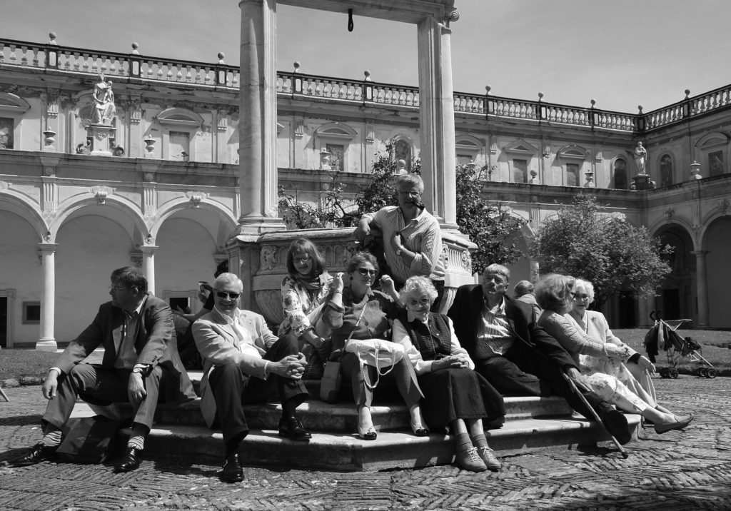 FPS members enjoying a study trip in Naples in 2009 (Photographs: Errol Manners)