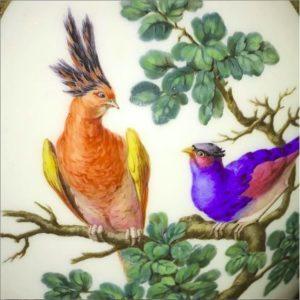 Sevres birds Waddesdon